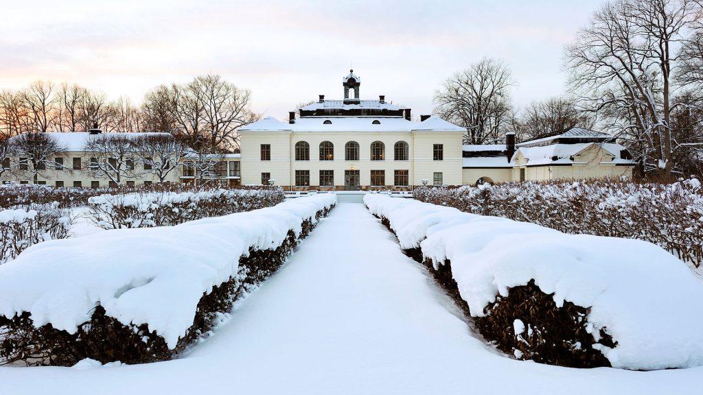 slott i vintern